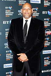© Licensed to London News Pictures. 08/05/2014, UK. John Amaechi, BT Sport Industry Awards 2014, Battersea Evolution, London UK, 08 May 2014. Photo credit : Brett D. Cove/Piqtured/LNP