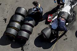 October 27, 2017 - Mexico-City, Mexico - Motorsports: FIA Formula One World Championship 2017, Grand Prix of Mexico, ..Pirelli, tire, tires, tyre, tyres, wheel, wheels, Reifen, Rad, feature  (Credit Image: © Hoch Zwei via ZUMA Wire)