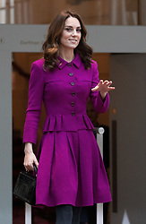 The Duchess of Cambridge visits the Costume Department at the Royal Opera House in London, 16 January 2018.<br /><br />16 January 2019.<br /><br />Please byline: Vantagenews.com