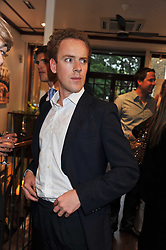 TOM INSKIP at a party to celebrate the launch of the new Mauritius Collection of jewellery by Forbes Mavros held at Patrick Mavros, 104-106 Fulham Road, London SW3 on 5th July 2011.