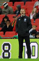 England U21/Portugal U21 European Under 21 Championship 14.11.09 <br /> Photo: Tim Parker Fotosports International<br /> Stuart Pearce England U21 manager 2009/10