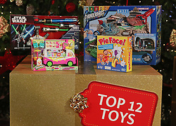 © Licensed to London News Pictures. 04/11/2015. London, UK. Some of the top 12 toys chosen by Toy Retailers Association are displayed at  the Dream Toys Christmas event. Photo credit: Peter Macdiarmid/LNP