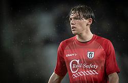 Callum McCowatt (FC Helsingør) under kampen i 1. Division mellem Fremad Amager og FC Helsingør den 21. oktober 2020 i Sundby Idrætspark (Foto: Claus Birch).
