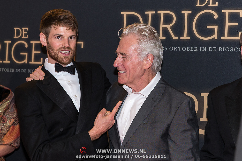 NLD/Amsterdam/20181023 -  Film premiere De Dirigent,  Benjamin Wainwright en Tim Ahern