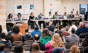The Madison Metropolitan School Board discusses various matters following swearing-in ceremony at Cesar Chávez Elementary School in Madison, WI on Monday, April 29, 2019.