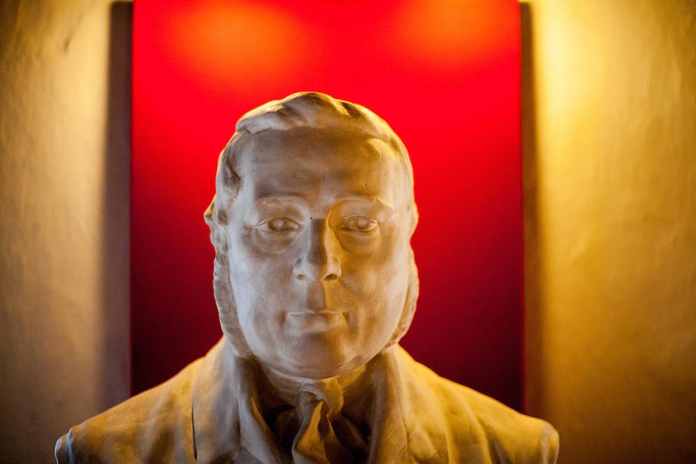 Adalbert Sifter Büste im Adalbert Stifter Museum in Horni Plana (Deutsch: Oberplan).