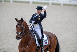 Sidneva Elena, RUS, Fuhur 6<br /> European Championship Dressage<br /> Rotterdam 2019<br /> © Hippo Foto - Dirk Caremans