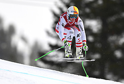 30.11.2017, Lake Louise, CAN, FIS Weltcup Ski Alpin, Lake Louise, Abfahrt, Damen, 3. Training, im Bild Cornelia Huetter (AUT) // Cornelia Huetter of Austria in action during the 3rd practice run of ladie's Downhill of FIS Ski Alpine World Cup at the Lake Louise, Canada on 2017/11/30. EXPA Pictures © 2017, PhotoCredit: EXPA/ SM<br /> <br /> *****ATTENTION - OUT of GER*****