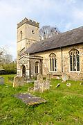 Village parish church of Saint Bartholomew, Finningham, Suffolk, England, UK