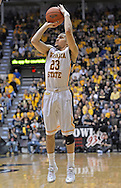 WICHITA, KS - JANUARY 05:  Guard Fred VanVleet #23 of the Wichita State Shockers shoots the ball against the Northern Iowa Panthers during the first half on January 5, 2014 at Charles Koch Arena in Wichita, Kansas.  (Photo by Peter G. Aiken/Getty Images) *** Local Caption *** Fred VanVleet
