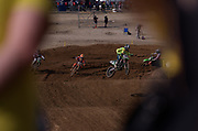 Tommy Searle leading Glenn Coldenhoff, Julien Lieber and Alessandro Lupino.