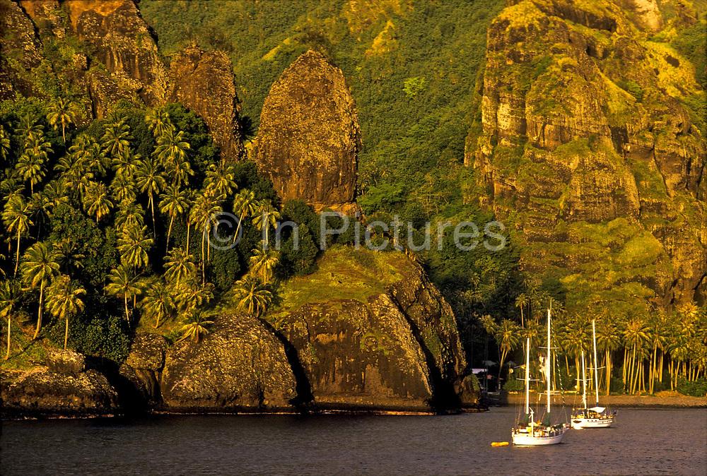 Bay of Hane, Ua Huka Island, French Polynesia.