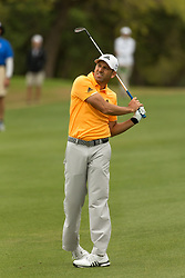 March 23, 2018 - Austin, TX, U.S. - AUSTIN, TX - MARCH 23:  Sergio Garcia leans while watching his ball fly just right of the sixth green during the WGC-Dell Technologies Match Play Tournament on March 22, 2018, at the Austin Country Club in Austin, TX.  (Photo by David Buono/Icon Sportswire) (Credit Image: © David Buono/Icon SMI via ZUMA Press)