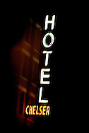 Chelsea Hotel New York. November 2004.<br /> Photograph Richard Robinson.<br /> 2004 © New Zealand Herald A Division of APN New Zealand Ltd.<br /> No Reproduction without prior written permission. Contact www.newspix.co.nz to licence photograph.