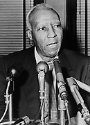 Asa Philip Randolph (1889-1979) prominent  African America civil rights leader.