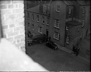 Shanahan Stamp Arrests - Peter Singer arrested. 30/05/1959