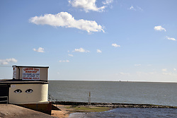 Canvey Island, Essex UK- Concord Beach paddling pool & cafe