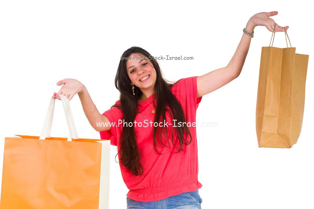 Happy Teen Shopper