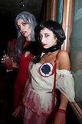 LARA BOHINC; Hannah Bhuiya; , Browns Focus Halloween party. Shepherds Bush pavilion. Shepherds Bush. London. 30 October 2009
