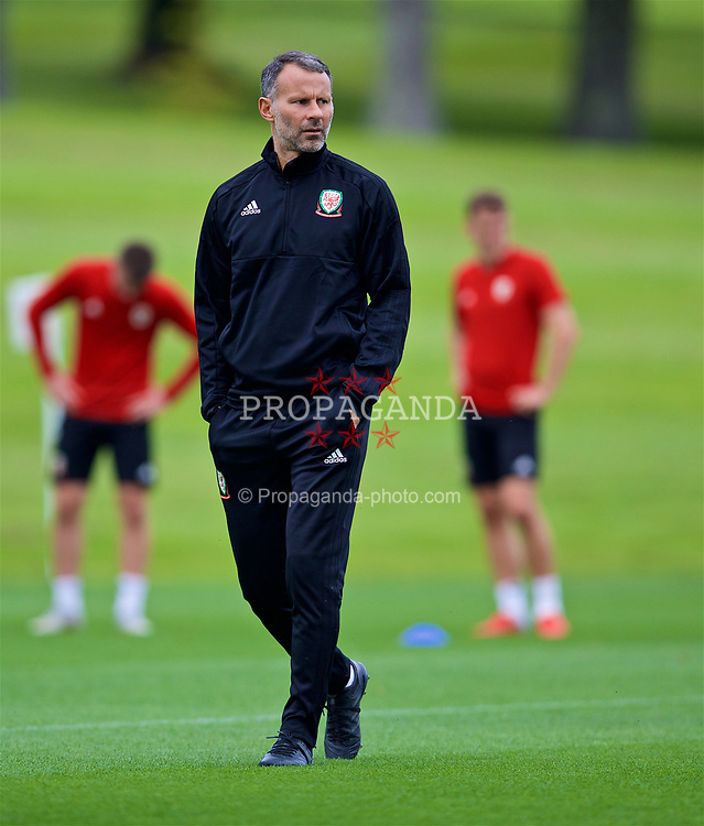 CARDIFF, WALES - Friday, September 7, 2018: Wales' manager Ryan Giggs during a training session at the Vale Resort ahead of the UEFA Nations League Group Stage League B Group 4 match between Denmark and Wales. (Pic by David Rawcliffe/Propaganda)