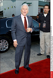 Kirk Douglas Dies At 103 - © Lionel Hahn/ABACA. 44421-12. Los Angeles-CA-USA. 04/07/03. Cast member Kirk Douglas attends the premiere of It Runs In The Family at the Mann Bruin Theatre in Westwood.