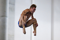 Eventual Winner Jack Laugher of City of Leeds Diving Club competes in the Mens 3m Springboard Final - Photo mandatory by-line: Rogan Thomson/JMP - 07966 386802 - 21/02/2015 - SPORT - DIVING - Plymouth Life Centre, England - Day 2 - British Gas Diving Championships 2015.