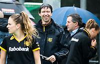 BILTHOVEN  - Hockey -  1e wedstrijd Play Offs dames. SCHC-Den Bosch (0-1). coach Raoul Ehren (Den Bosch)   COPYRIGHT KOEN SUYK