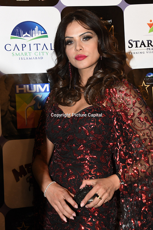 Sadaf Khan (Fawad Khan's Wife) arrives at the Annual International Pakistan Prestige Awards (IPPA) at Indigo at The O2 on 9th September 2018, London, UK.