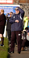 Photo: Leigh Quinnell.<br /> Chesterfield v Southend United. Coca Cola League 1. 18/02/2006. Chesterfield manager Roy McFarland watches his team on the touch line.