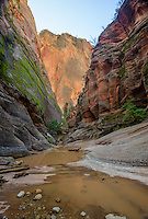 Hidden Canyon, Zion National Park, located in the Southwestern United States, near Springdale, Utah.