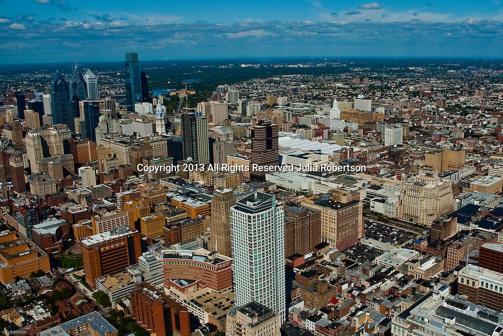 Aerial view of Jefferson University , Philadelphia, PA