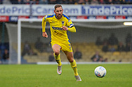 AFC Wimbledon midfielder Scott Wagstaff (7) dribbling during the EFL Sky Bet League 1 match between Southend United and AFC Wimbledon at Roots Hall, Southend, England on 12 October 2019.