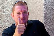Thumbs up in Gibara, Holguin, Cuba.
