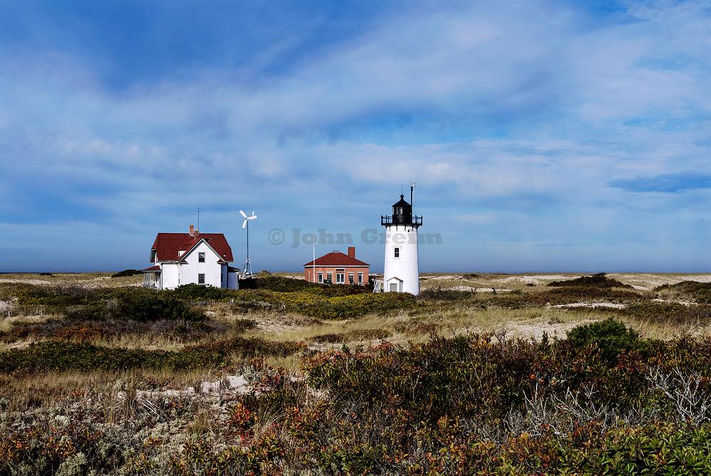 Race Point Lighthouse, Provincetown, Massachusetts, USA