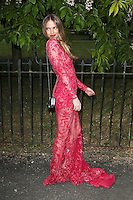Alicia Rountree, The Serpentine Gallery Summer Party, Serpentine Gallery, London UK,  06 July 2016, Photo by Richard Goldschmidt