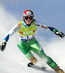 SKI ALPIN: Weltcup, Damen, Riesenslalom, Soelden, 22.10.2005<br /> Tina MAZE (SLO) <br /> Photo by Pixathlon / Sportida Photo Agency