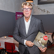NLD/Amsterdam/20151202 - Opening DWDD Pop up restaurant en kookboek presentatie Koken met Kranenborg, Robert Kranenborg