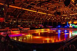 13-01-2019 NED: ISU European Short Track Championships 2019 day 3, Dordrecht<br /> Ice preparing, Optisport Dordrecht, entertainment