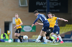 Ollie Clarke of Bristol Rovers puts in a tackle - Mandatory by-line: Arron Gent/JMP - 07/03/2020 - FOOTBALL - Roots Hall - Southend-on-Sea, England - Southend United v Bristol Rovers - Sky Bet League One