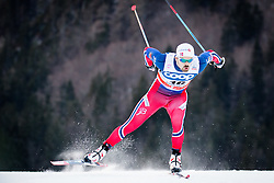 Fossli Sondre Turvoll (NOR) during Man 1.2 km Free Sprint Qualification race at FIS Cross<br /> Country World Cup Planica 2016, on January 16, 2016 at Planica,Slovenia. Photo by Ziga Zupan / Sportida