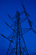 Electricity pylon in Cirencester, Gloucestershire, United Kingdom
