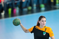 Kaja Voglar of RK Zagorje during handball match between RK Zagorje and RK Krim Mercator of Super Cup 2016, on August 27, 2016 in SRC Marina, Portoroz / Portorose, Slovenia. Photo by Matic Klansek Velej / Sportida