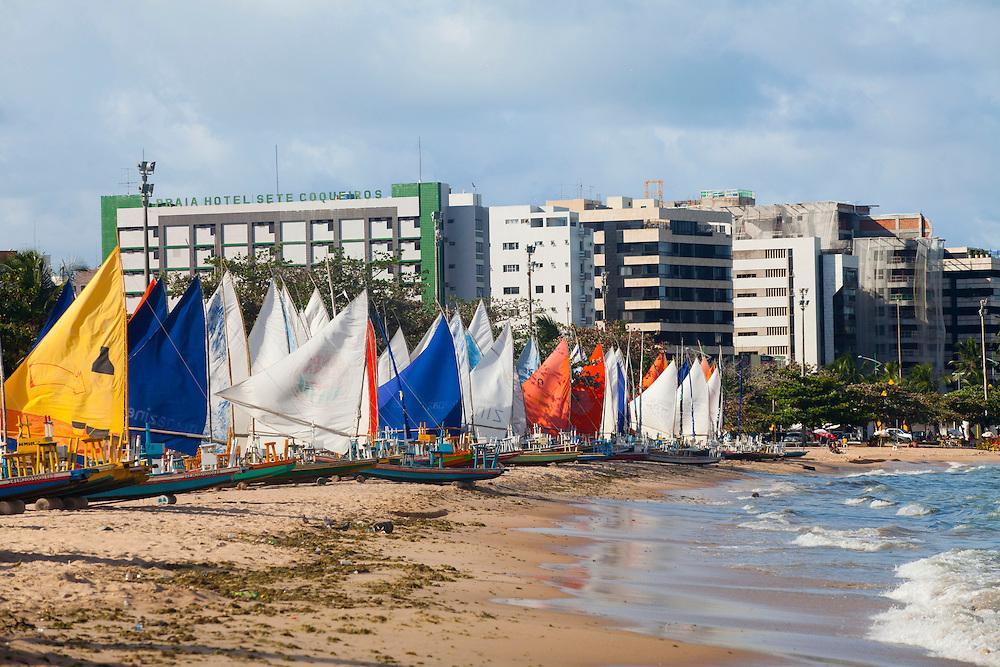Maceio_AL, Brasil.<br /> <br /> Praia de Pajucara em Maceio, Alagoas.<br /> <br /> Pajucara beach in Maceio, Alagoas.<br /> <br /> Foto: RODRIGO LIMA / NITRO