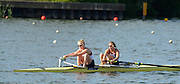 Caversham, Great Britain, GBR W2-, Bow Helen GLOVER and Polly SWANN.  GB Rowing media day, 2013 World Cup Team Announcement  at the Redgrave Pinsent Rowing Lake. GB Rowing Training centre. Wednesday  05/06/2013  [Mandatory Credit. Peter Spurrier/Intersport Images]