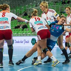 20151030: SLO, Handball - EHF Women Champions League 2015/16, RK Krim Mercator vs Larvik HK