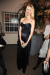 CLAUDIA SCHIFFER at Chaos Point - a fashion show from Viienne Westwood's Gold Label Collection in aid of the NSPCC at The Banqueting House, London SW1 on 18th November 2008.