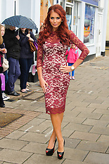 OCT 31 2012 Amy Childs product signing