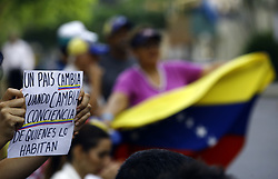 May 2, 2019 - Valencia, Carabobo, Venezuela - May 02, 2019. The venezuelans people continues pacific protest in street. this photos are made in the  El trigal urbanization, in the city of Valencia, Carabobo state. Photo: Juan Carlos Hernandez (Credit Image: © Juan Carlos Hernandez/ZUMA Wire)