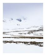 stark beauty of winter in Iceland