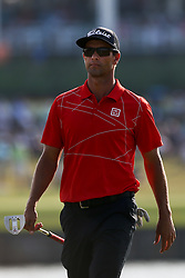 May 11, 2018 - Ponte Vedra Beach, Florida, United States - Adam Scott walks off the 16th green during the second round of The PLAYERS Championship at TPC Sawgrass. (Credit Image: © Debby Wong via ZUMA Wire)